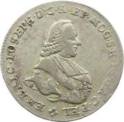 20 Kreuzer - Emmerich Joseph von Breitbach-Bürresheim (20 Konventionskreuzer) – obverse
