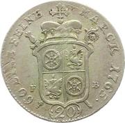 20 Kreuzer - Emmerich Joseph von Breitbach-Bürresheim (20 Konventionskreuzer) – reverse