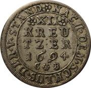 12 Kreuzer - Anselm Franz – reverse