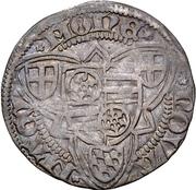 1 Weißpfennig - Dietrich II. von Isenburg-Büdingen – reverse