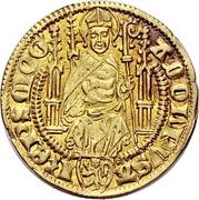 1 Goldgulden - Adolph I. von Nassau (Bingen) – obverse