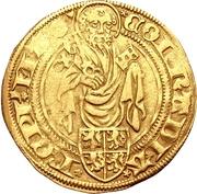 1 Goldgulden - Conrad III von Dhaun (Höchst) – obverse