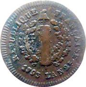 2 Sols - Friedrich Karl Joseph (Siege of Mainz) – obverse