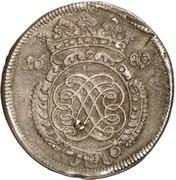 ⅔ Thaler (Siege coinage) – obverse