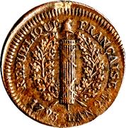 5 Sols - Friedrich Karl Joseph (Mainz Siege Coinage) – obverse