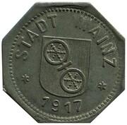 10 Pfennig - Mainz – obverse