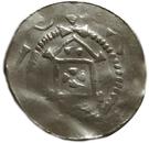 1 Pfennig - Heinrich II – obverse