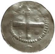 1 Pfennig - Heinrich II – reverse