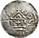 1 Pfennig - Arnulf von Kärnten – reverse