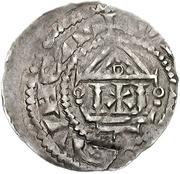 1 Pfennig - Heinrich III. the Black – reverse