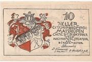 10 Heller (Maishofen) – obverse