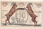 10 Heller (Maishofen) – reverse
