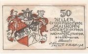 50 Heller (Maishofen) – obverse