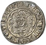 ½ Real - Jaime II – obverse