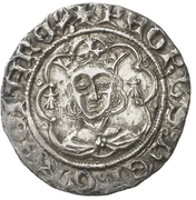 ½ Real - Pedro IV – obverse