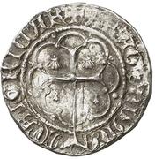 ½ Real - Pedro IV – reverse