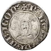 Dobler - Pedro IV – obverse
