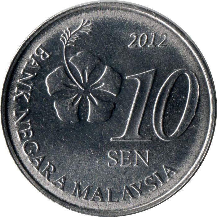 sen malaysia numista