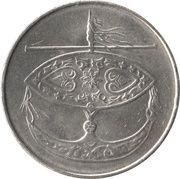 50 Sen - Agong -  obverse