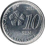 10 Sen -  reverse