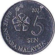5 Sen -  reverse