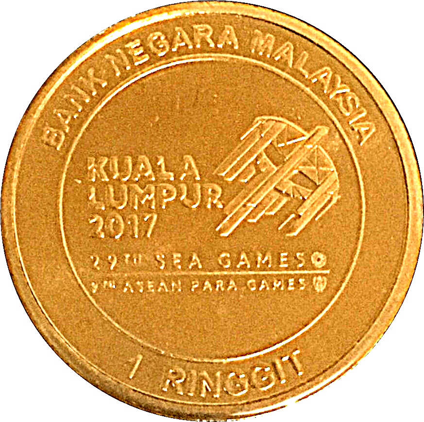OFFER Malaysia 2017 Southeast Asian Games and 9th Asean coin card
