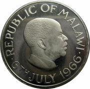 1 Crown (Declaration of the Republic of Malawi) – obverse