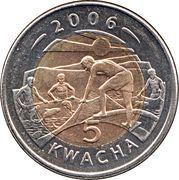 5 Kwacha -  reverse