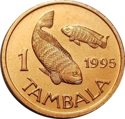 1 Tambala (non-magnetic) – reverse