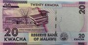 20 Kwacha – reverse