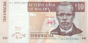 10 Kwacha – obverse