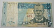 50 Kwacha 2001-2004 – obverse