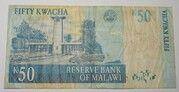 50 Kwacha 2001-2004 – reverse