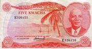 5 Kwacha – obverse