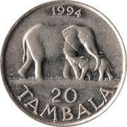20 Tambala – reverse