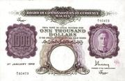 1000 Dollars – obverse