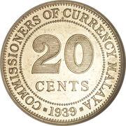 20 Cents - George VI – reverse