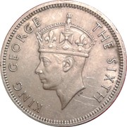 20 Cents - George VI – obverse