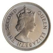 20 Cents - Elizabeth II (1st portrait) – obverse