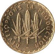 100 Francs (FAO) – reverse