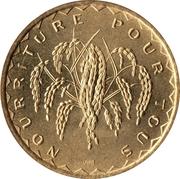 50 Francs (FAO) – reverse