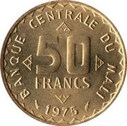 50 Francs (FAO) – obverse