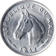 10 Francs Maliens – obverse