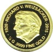 100 Francs (Richard von Weizsäcker) – reverse