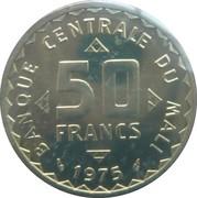 50 Francs (Essai) – reverse