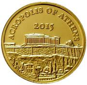 100 Francs (Acropolis of Athens) – reverse