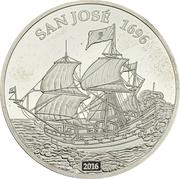 1000 Francs CFA (San José) – reverse