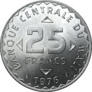 25 Francs – obverse