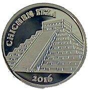 100 Francs CFA - Chichén Itza – reverse