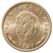 25 Francs Maliens – obverse